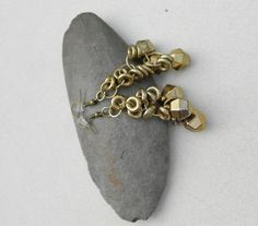 earrings metal ting a ling a jing metal from by notdomesticated, $16.00