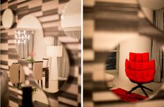 SYRB The Sail #syrb #modern #interior #design #husk #patricia #urquiola #black #white #red #living #nemo #crown #minor #pendant #capelini #floor #lamp