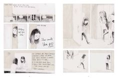 """Illustration from """"Jane, the fox and me"""", written by Fanny Britt and illustrated by Isabelle Arsenault"""