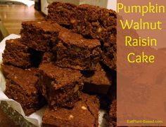 Recipe from Mary McDougall's Pumpkin Walnut Muffins in The Starch Solution. I…