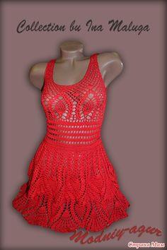 openwork knit dress 1