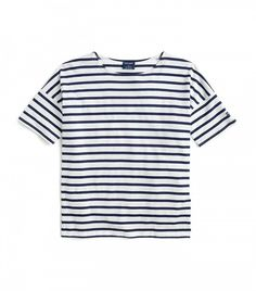 Saint James for J. Crew Short-Sleeve Slouchy T-Shirt