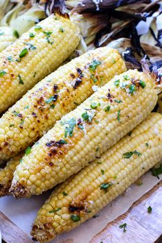 Grilled Corn With Ja