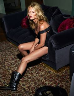 Kate Moss by Mert Alas & Marcus Piggott for Vogue Paris October 2015