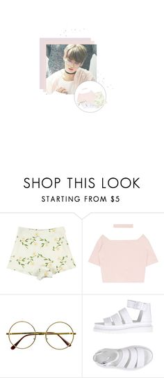"""""""Spring 🌸"""" by kassie234 ❤ liked on Polyvore featuring Retrò and Dr. Martens"""