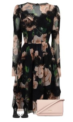 Featuring Dolce&Gabbana, Yves Saint Laurent and Kate Spade Classy Outfits, Pretty Outfits, Pretty Dresses, Beautiful Dresses, Casual Outfits, Cute Outfits, Look Fashion, Girl Fashion, Fashion Outfits