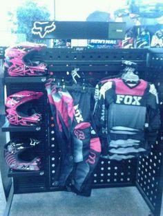 New women's and girls Fox motor gear at Tousley Motorsports Motocross Girls, Motocross Gear, Motocross Clothing, Dirt Bike Gear, Dirt Bike Racing, Dirt Biking, Victory Motorcycles, Motorcycles For Sale, Dirt Bike Tattoo