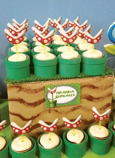 Clever Super Mario Brothers Party Ideas Feed Me Semour