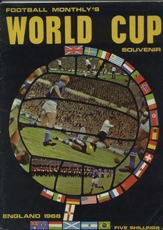 England Football 1966 World Cup souvenir Monthly Magazine Booby Moore Wembley English Football Teams, 1960s Britain, 1966 World Cup Final, England Shirt, World Cup Match, World Cup Winners, Monthly Magazine, England Football, Souvenir