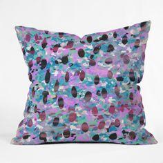 Georgiana Paraschiv Wild Side 6 Throw Pillow   DENY Designs Home Accessories