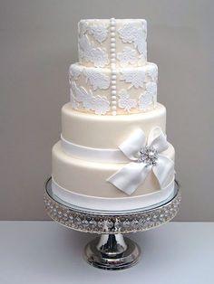 elegant cake creations #wedding #weddingcake #teamwedding