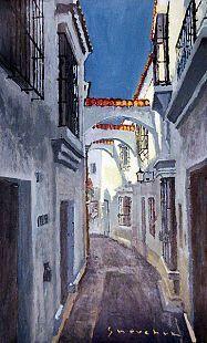 Gallery of artist Yuriy Shevchuk: Oil Cityscape Paintings, Spain