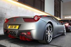 A Ferrari 458 Italia.
