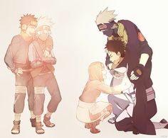 The love of team minato is now gone since Obito has died :( Naruto Shippuden