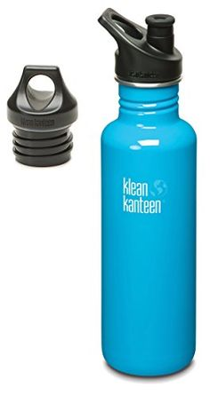Klean Kanteen Stainless Steel Bottle with Loop CapChannel Island27Ounce ** See this great product.(This is an Amazon affiliate link)