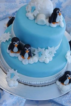 1000 Images About Penguin Cakes On Pinterest Penguin