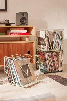 Cramer Vinyl Storage Crate More