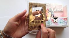 *Cute Mini Album with Stand- SaCrafters DT Project*