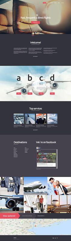 Transportation •  Espresso Web Inspiration at your Coffee Break! Joomla • Template #58787