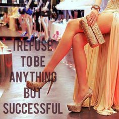 Wearing #fabulous #heels is the first step to #success ;)
