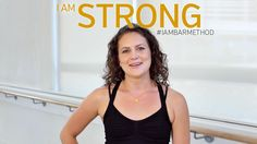 """""""I am strong. I am Bar Method."""" Lauren has been taking Bar Method classes for a little over a year. She had an injury from martial arts and needed to find an alternative workout. As someone who likes to be pushed when she works out, she finds strength in the encouragement from the inspiring and motivating instructors. #IAMBARMETHOD"""