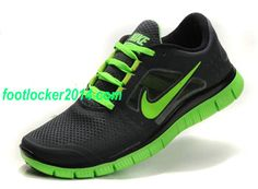 Hot Buy Nike Free Run 3 Online Black Fluorescence Green Running Shoes  Online 0e4f442a979