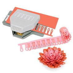 NEW EK Success Paper Punch - DIMENSIONAL LILY FLOWER - Scrapbooking, Crafts, DIY