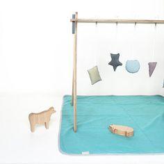 Gimnasio para Bebés .Babygym www.mad-design.eu #madera #diseñoespañol