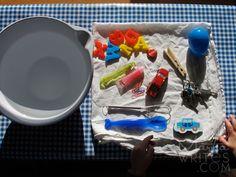 marta writes: preschool project / sink or float