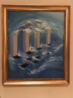 oil on canvas - 50 x 60 cm Atlantis, Oil On Canvas, Paintings, Art, Art Background, Paint, Painting Art, Kunst, Performing Arts