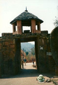 Royal Palace Gate, Antananarivo, Madagascar