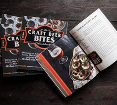 Win an advanced copy of The Beer Bites Cookbook!