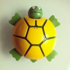 #vintage turtle toy #toys #playskool I loved this, think it was a bath toy.
