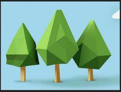 Fun chunky trees
