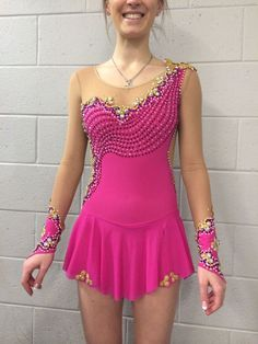 NEW COMPETITION ICE FIGURE SKATING DRESS