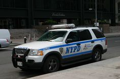 NYPD Ford Explorer - Transit Homeless Outreach Unit.