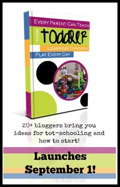 Every Child Can Teach Their Toddler ebook available 20 Top Kid Bloggers