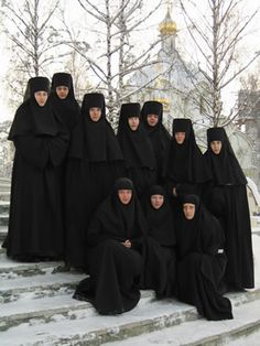 Nuns from St. Elizabeth's Convent