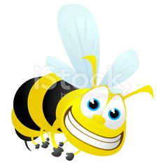 Wasp Cartoon royalty-free stock vector art