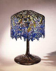 Lamp - Genuine L C Tiffany Cir 1900 - TWS22