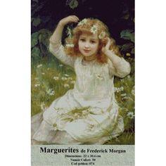 'Marguerites, Painting Lily Manor Format: Unframed Paper, Size: 70 cm H x 50 cm W x cm D Painting Frames, Painting Prints, Canvas Prints, Cross Stitch Kits, Artist Canvas, Nature Scenes, World Cultures, Cotton Canvas, Wrapped Canvas