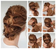 Ball Hairstyles, Wedding Hairstyles, Wedding Hair And Makeup, Hair Makeup, Messy Curls, Curly Girl, Hair Dos, Ombre Hair, Naturally Curly