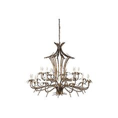 Bronze Bamboo Chandelier Old Gold Ceiling Chandeliers (30.427.660 IDR) ❤ liked on Polyvore featuring home, lighting, ceiling lights, oriental lamps, gold ceiling lights, asian ceiling lights, bronze chandelier and asian lamps