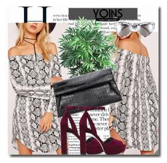 """""""Yoins !!"""" by dianagrigoryan ❤ liked on Polyvore featuring Nearly Natural, Quay, yoins, yoinscollection and loveyoins"""
