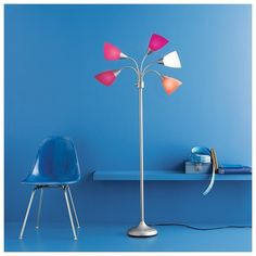 Room essentials 5 head floor lamp pink 19 liked on room essentials 5 head floor lamp pink 19 liked on polyvore mozeypictures Choice Image
