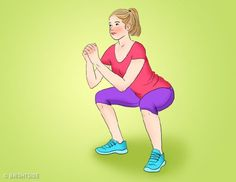 If you really want your butt to look more toned, you can participate in this interesting challenge with us. This proof of your desire to get a wonderful Butt consists of only 30 days Workout Plan. 30 Day Workout Plan, Butt Workout, Gym Workouts, At Home Workouts, Workout Plans, Faire Des Squats, Squat Challenge, Thigh Exercises, Excercise