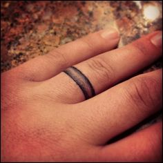 Wedding Ring Tattoos Pictures