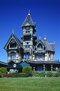 Carson Mansion in Eureka, California 2013
