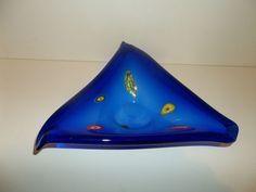 Murano Bowl Triangle Millefiori Design  T47
