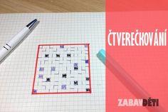 Logická hra Čtverečkování | Zabav děti - Inspirace pro rodiče a vedoucí Periodic Table, Games, Homeschooling, Periodic Table Chart, Periotic Table, Gaming, Plays, Game, Toys